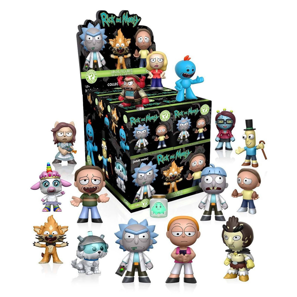 Funko Rick And Morty Mystery Minis Blind Box Vinyl Figure