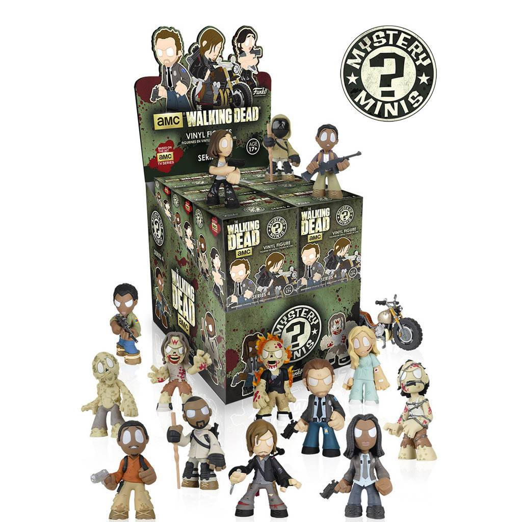 The Walking Dead Series 4 Mystery Mini Vinyl Figure