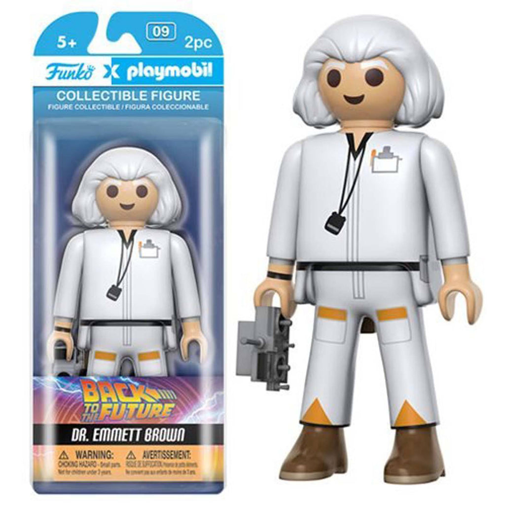 Funko Playmobil Back To The Future Doc Brown Action Figure