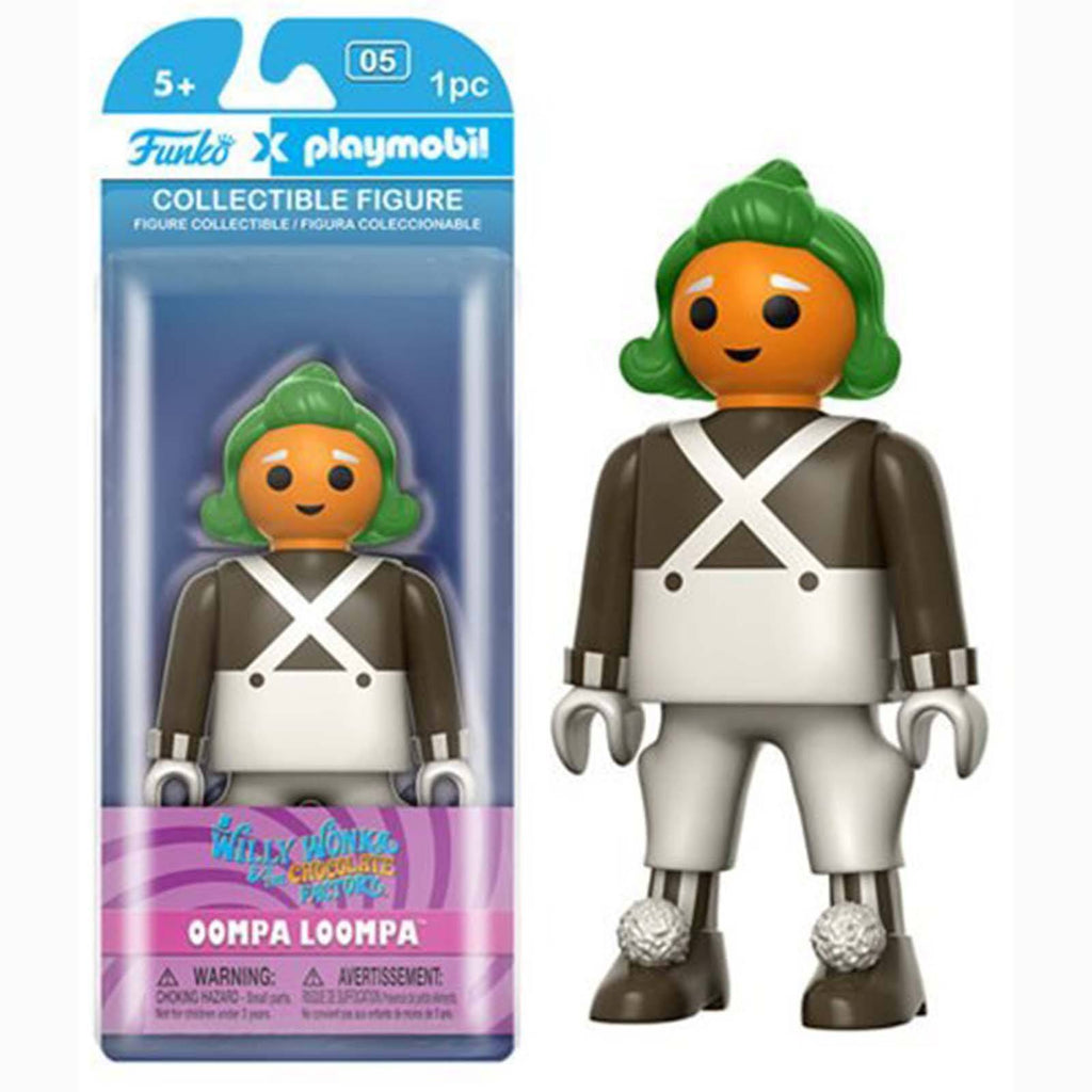 Funko Playmobil Willy Wonka Oompa Loompa Action Figure