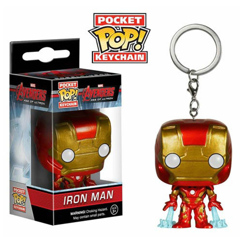 Avengers Age Of Ultron Pocket POP Iron Man Vinyl Figure Keychain