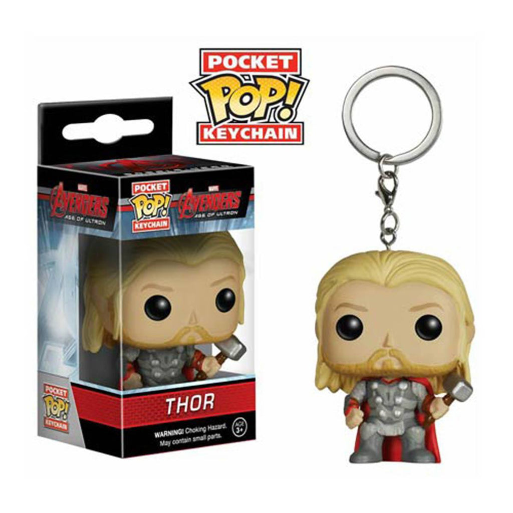 Avengers Age Of Ultron Pocket POP Thor Vinyl Figure Keychain