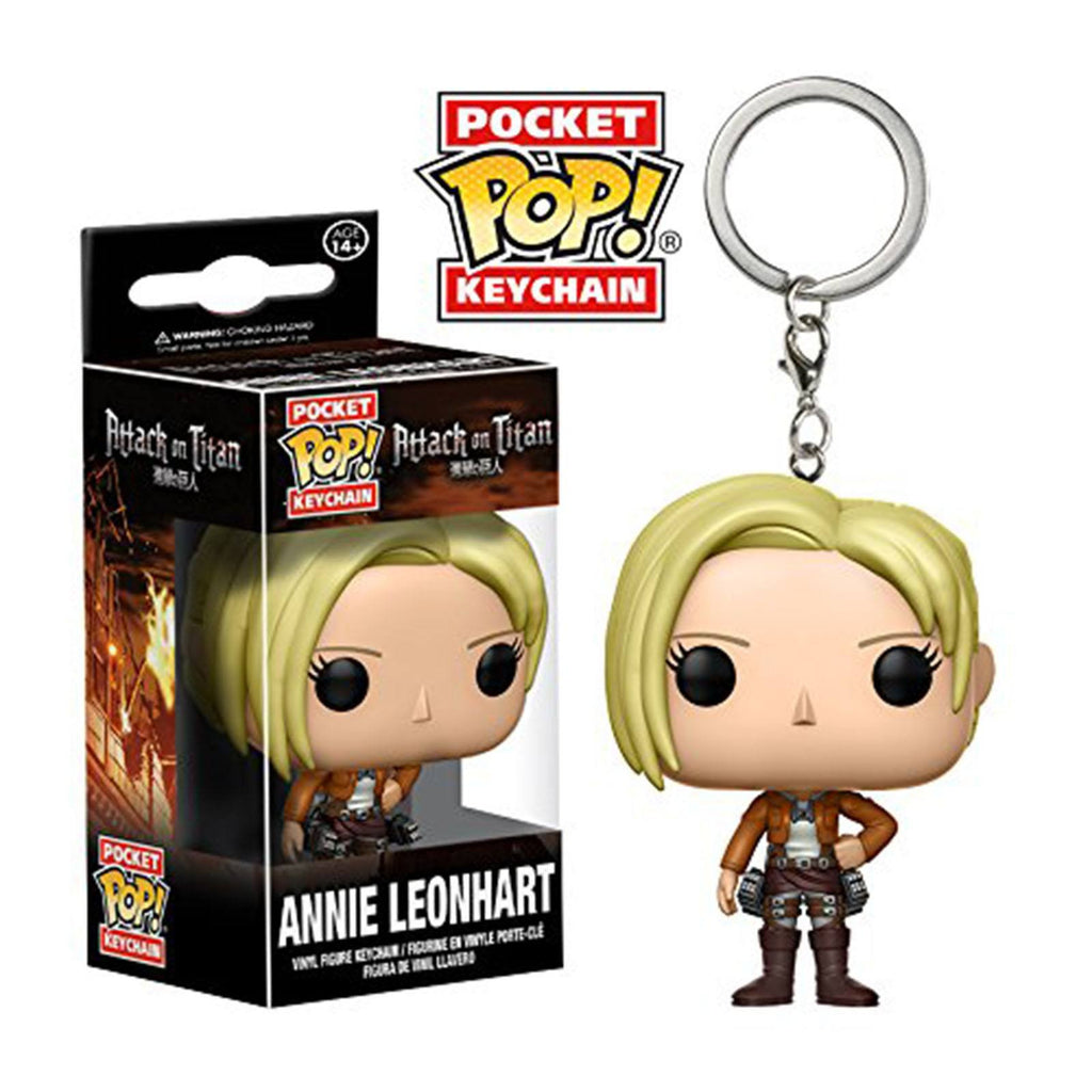 Funko Attack On Titan Pocket POP Annie Leonhart Figure Keychain