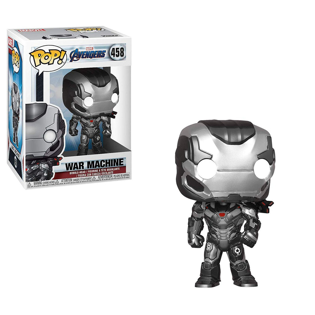 Funko Avengers End Game POP War Machine Vinyl Figure