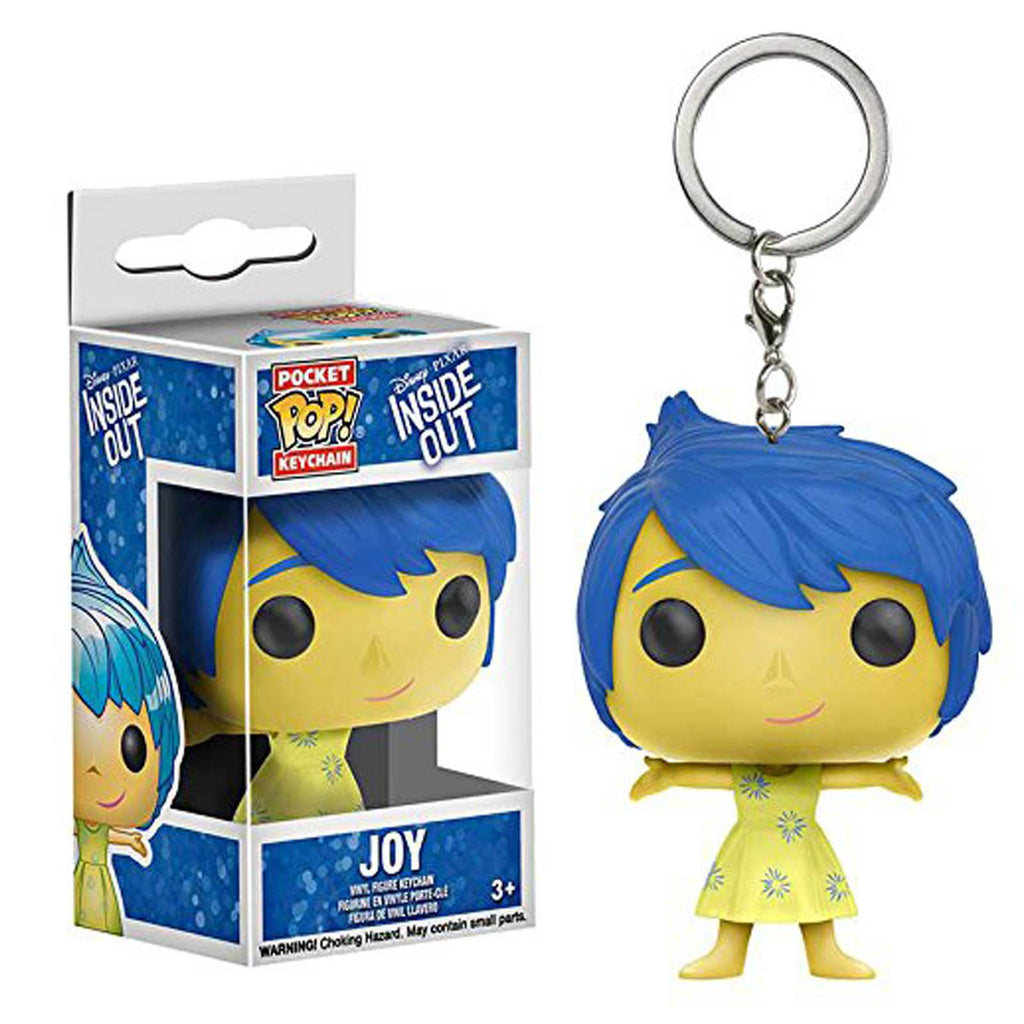Funko Disney Inside Out Pocket POP Joy Vinyl Figure Keychain