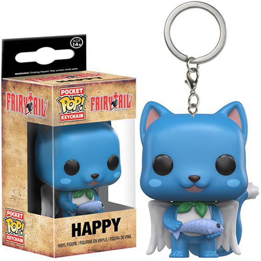 Funko Fairy Tail Pocket POP Happy Vinyl Figure Keychain