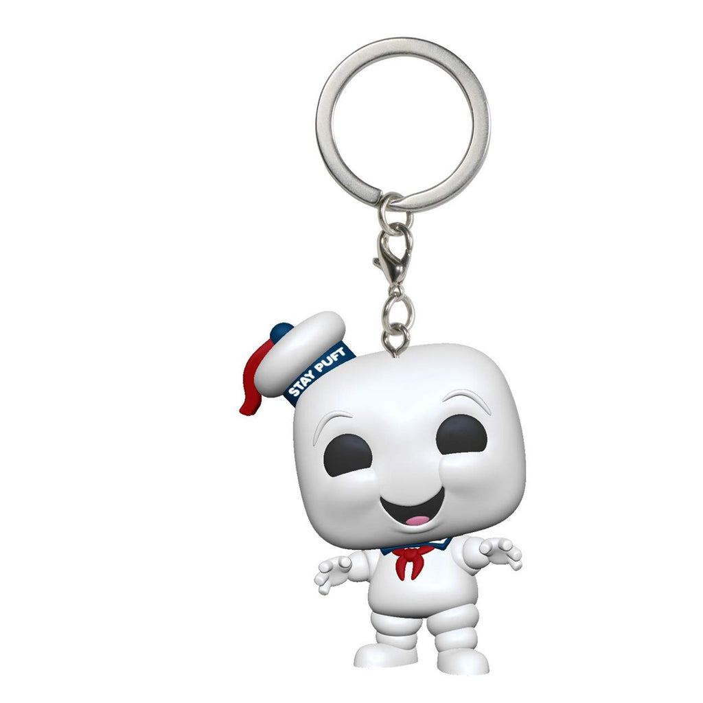 Funko Ghostbusters Pocket POP Stay Puft Figure Keychain