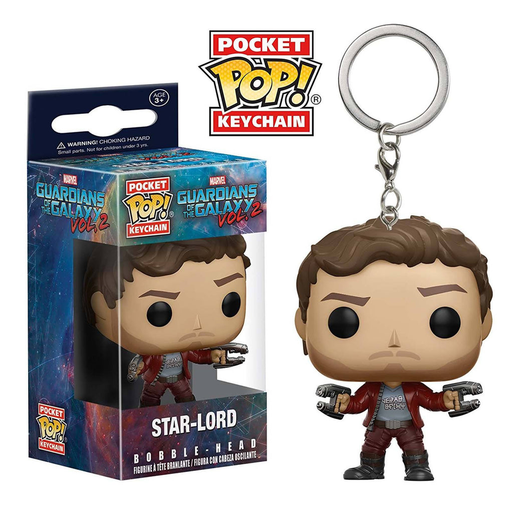 Funko Guardians Of The Galaxy 2 Pocket POP Star-Lord Keychain Figure