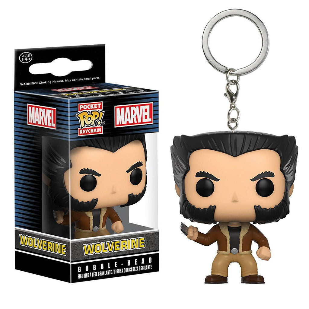 Funko Marvel Pocket POP Wolverine Keychain Figure