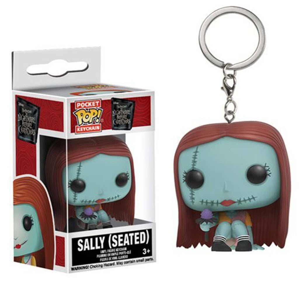 Funko Nightmare Before Christmas Pocket POP Seated Sally Figure Keychain