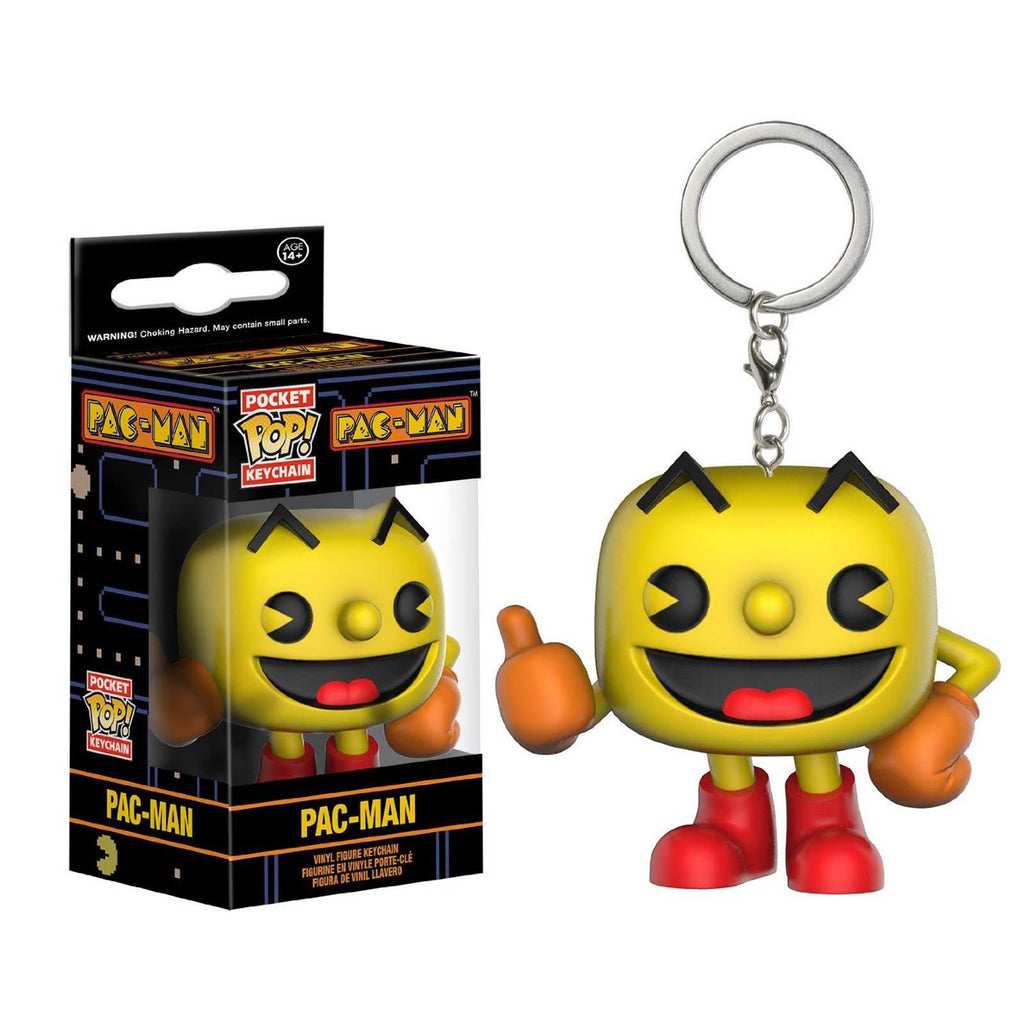 Funko Pac-Man Pocket POP Pac-Man Vinyl Figure Keychain