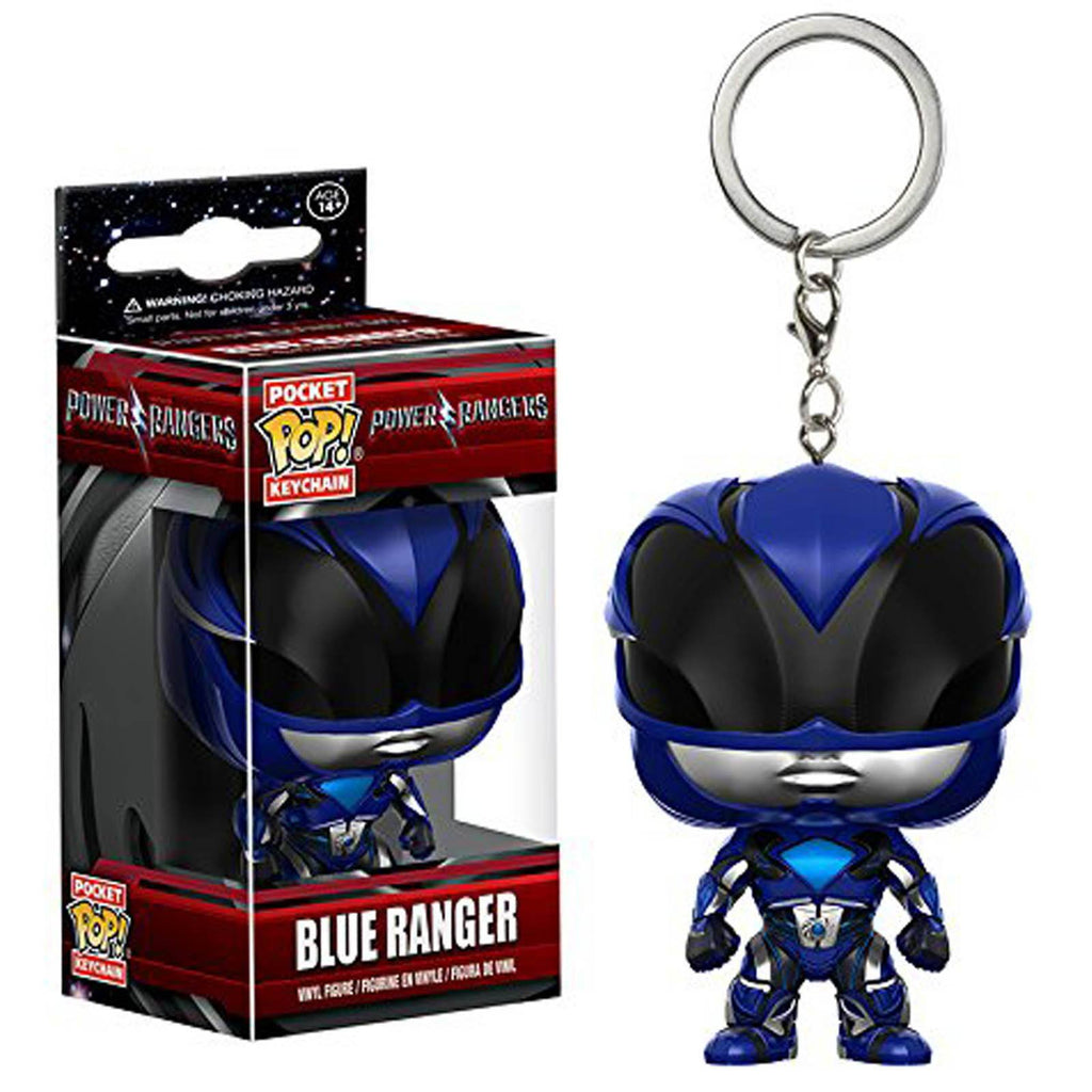 Funko Power Rangers Movie Pocket POP Blue Ranger Vinyl Figure Keychain