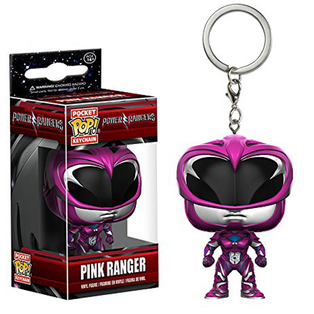 Funko Power Rangers Movie Pocket POP Pink Ranger Vinyl Figure Keychain