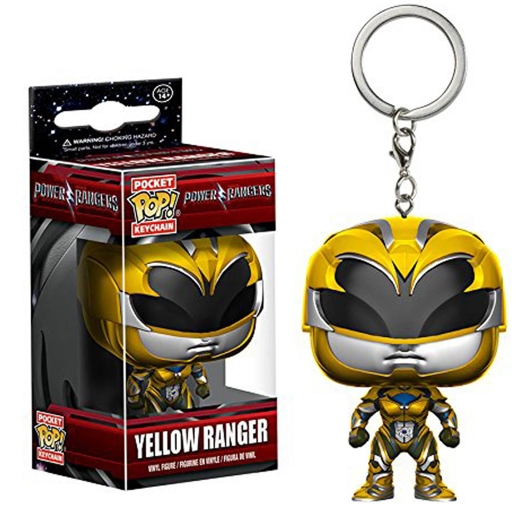 Funko Power Rangers Movie Pocket POP Yellow Ranger Vinyl Figure Keychain - Radar Toys