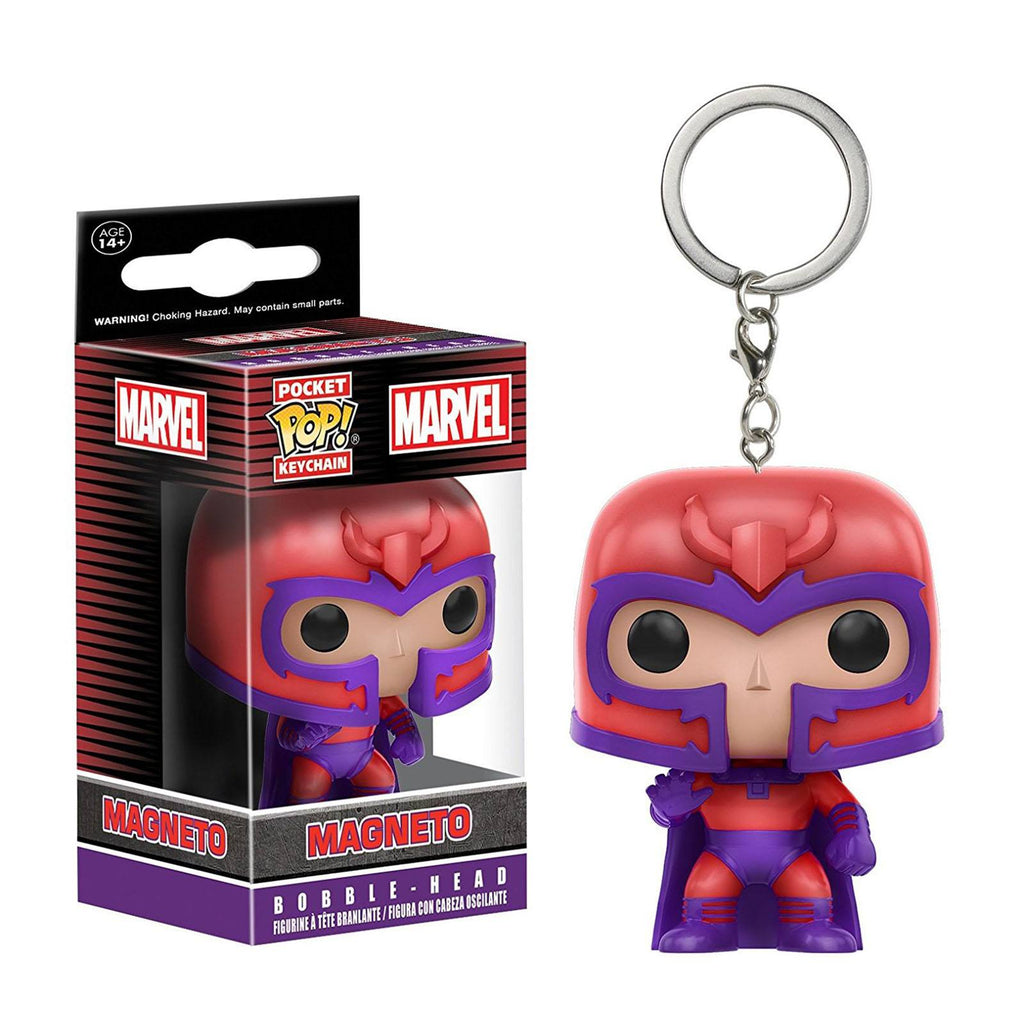 Funko X-Men Pocket POP Magneto Vinyl Figure Keychain - Radar Toys