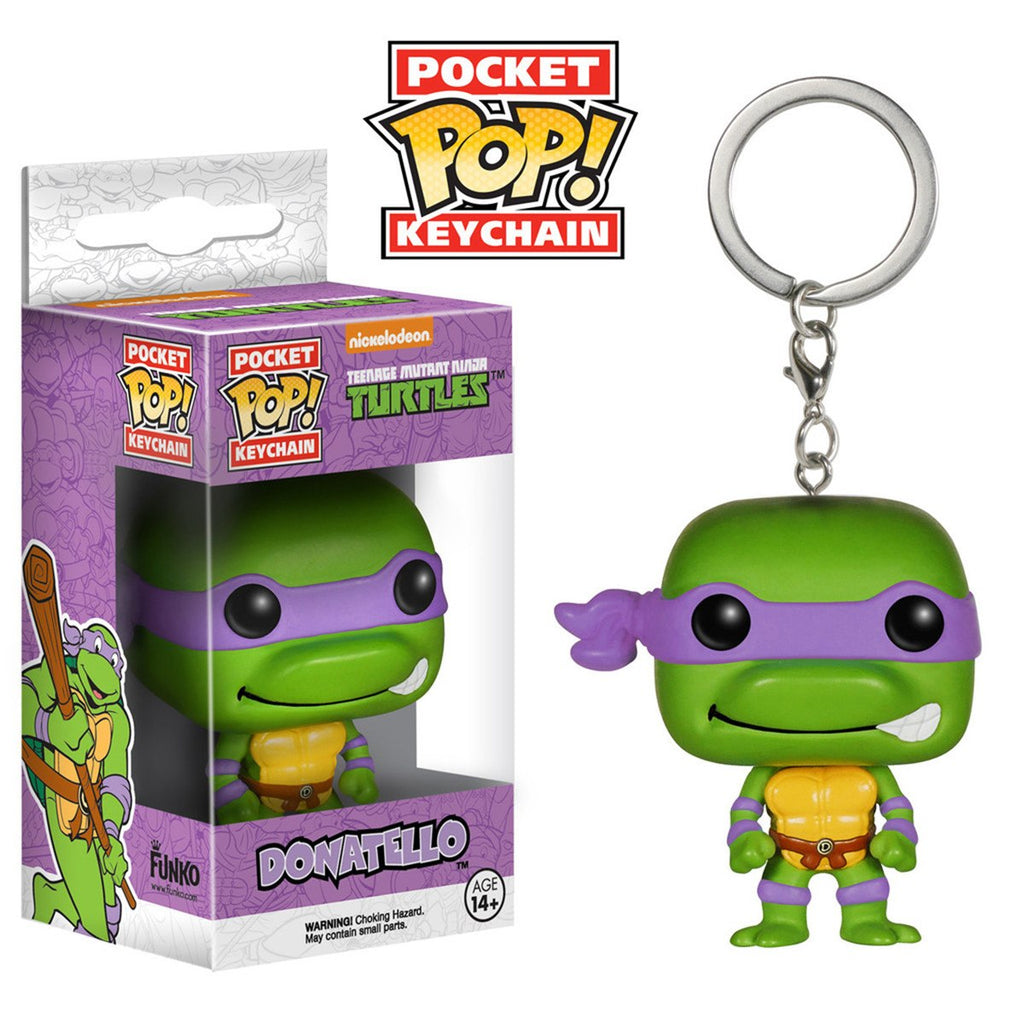 Teenage Mutant Ninja Turtles Pocket POP Donatello Keychain - Radar Toys