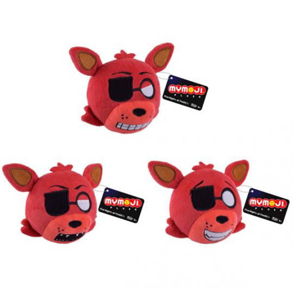 Funko Five Nights At Freddy's Mymoji Foxy Plush Figure 3 Pack