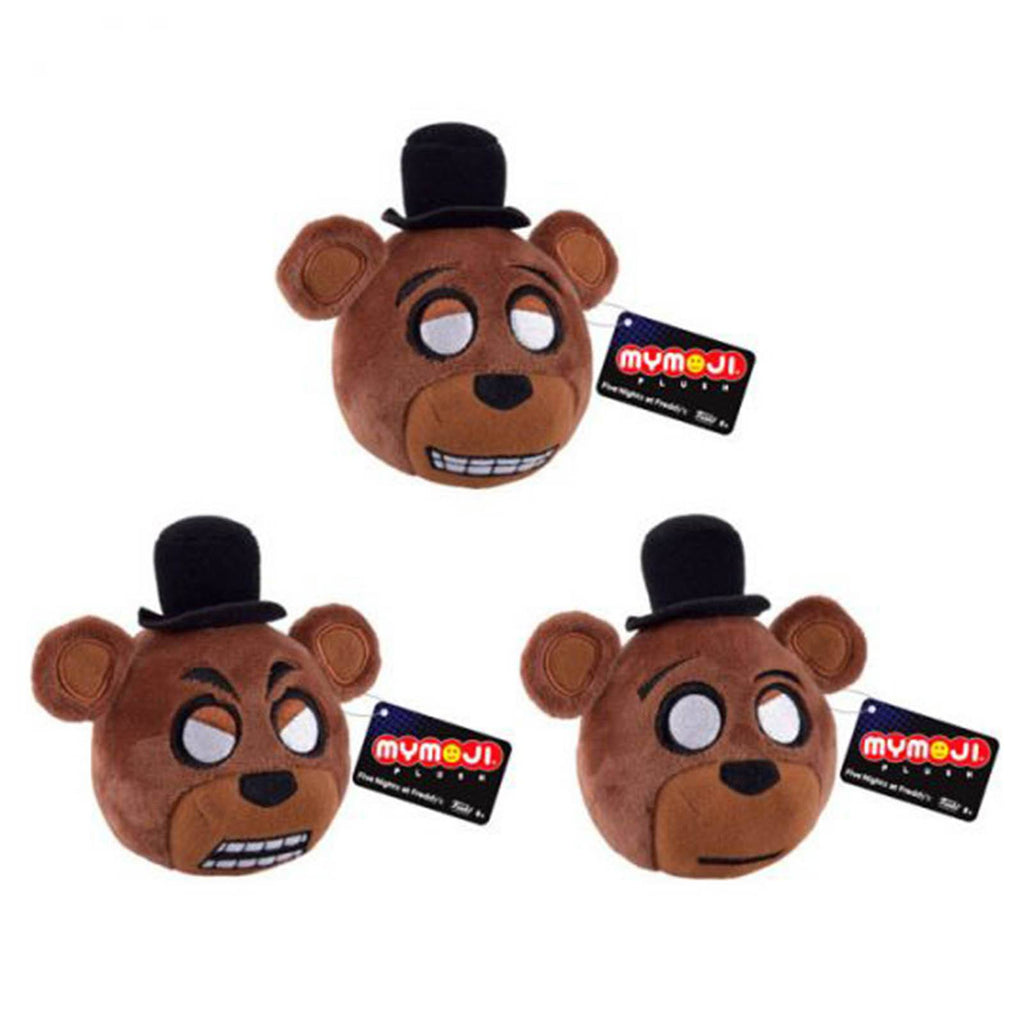 Funko Five Nights At Freddy's Mymoji Freddy Fazbear Plush Figure 3 Pack