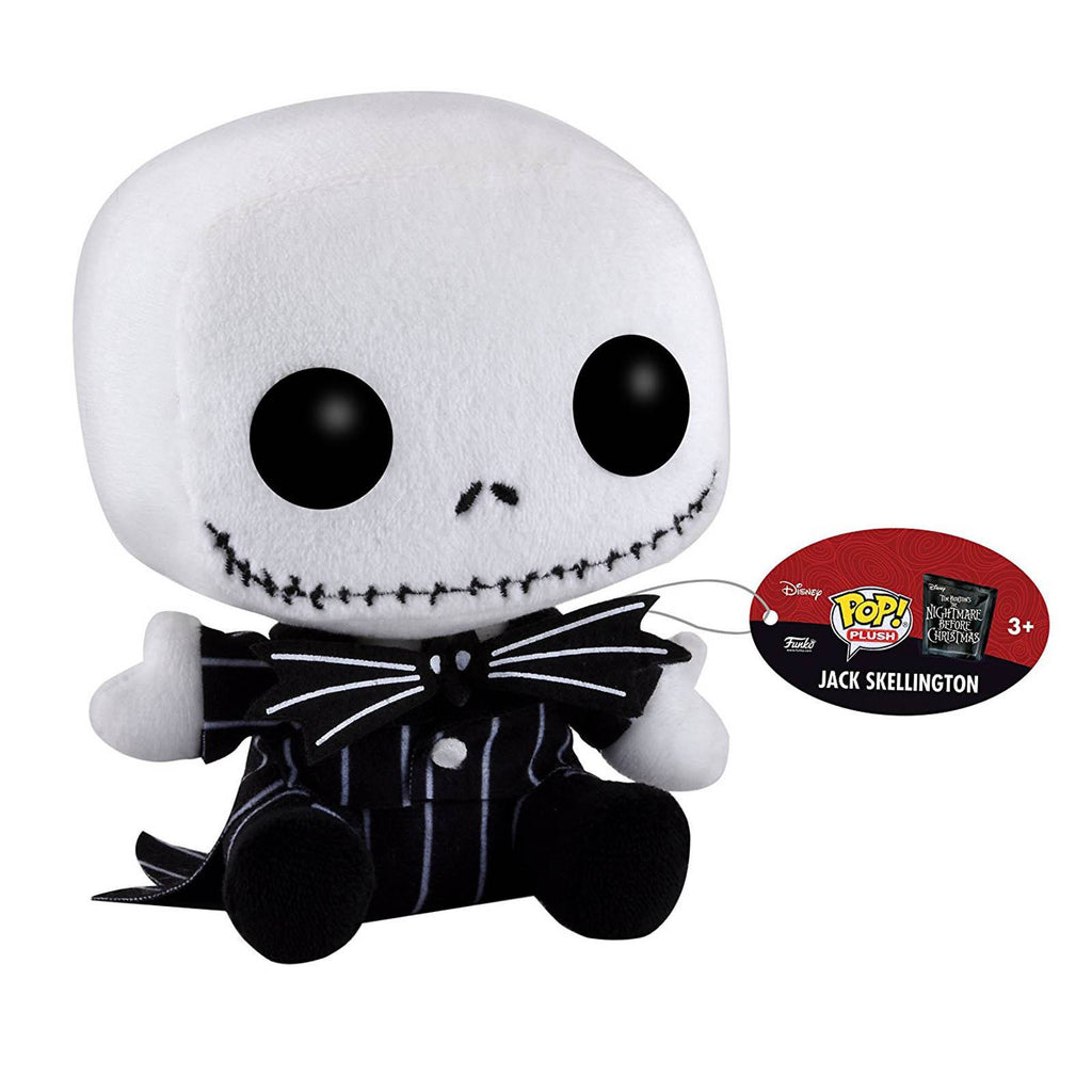 Funko Nightmare Before Christmas POP Plush Jack Skellington Figure