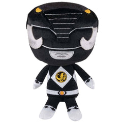 Funko Power Rangers Hero Plushies Black Ranger Plush Figure - Radar Toys