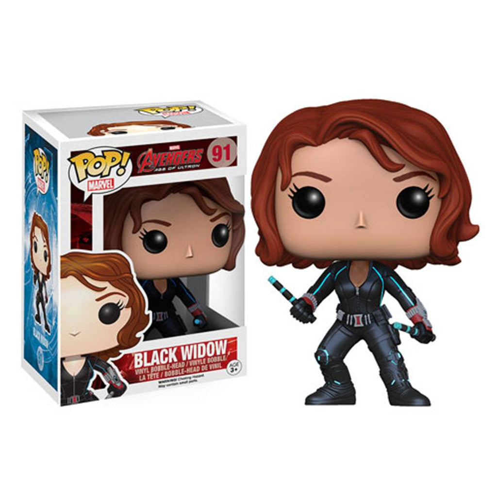 Avengers Age of Ultron POP Black Widow Bobble Head Vinyl Figure