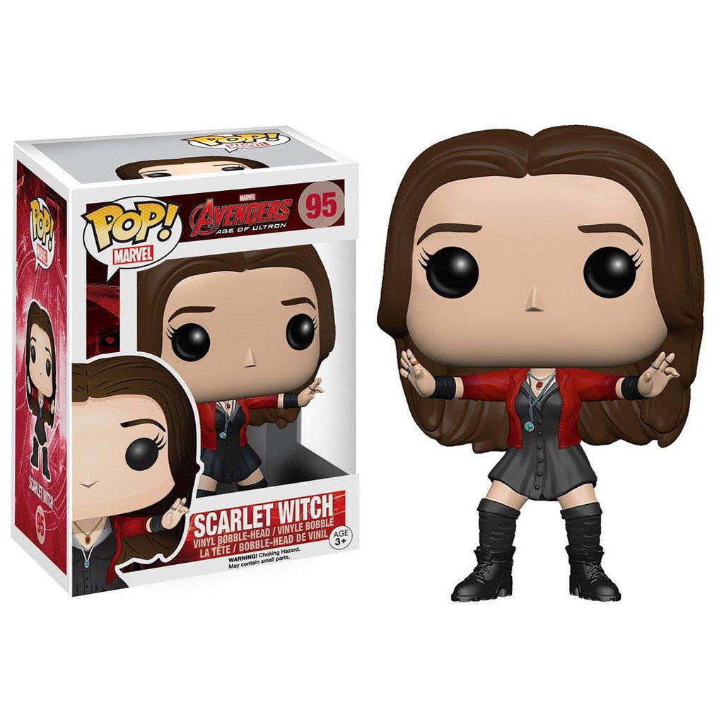 Avengers Age of Ultron POP Scarlet Witch Bobble Head Vinyl Figure