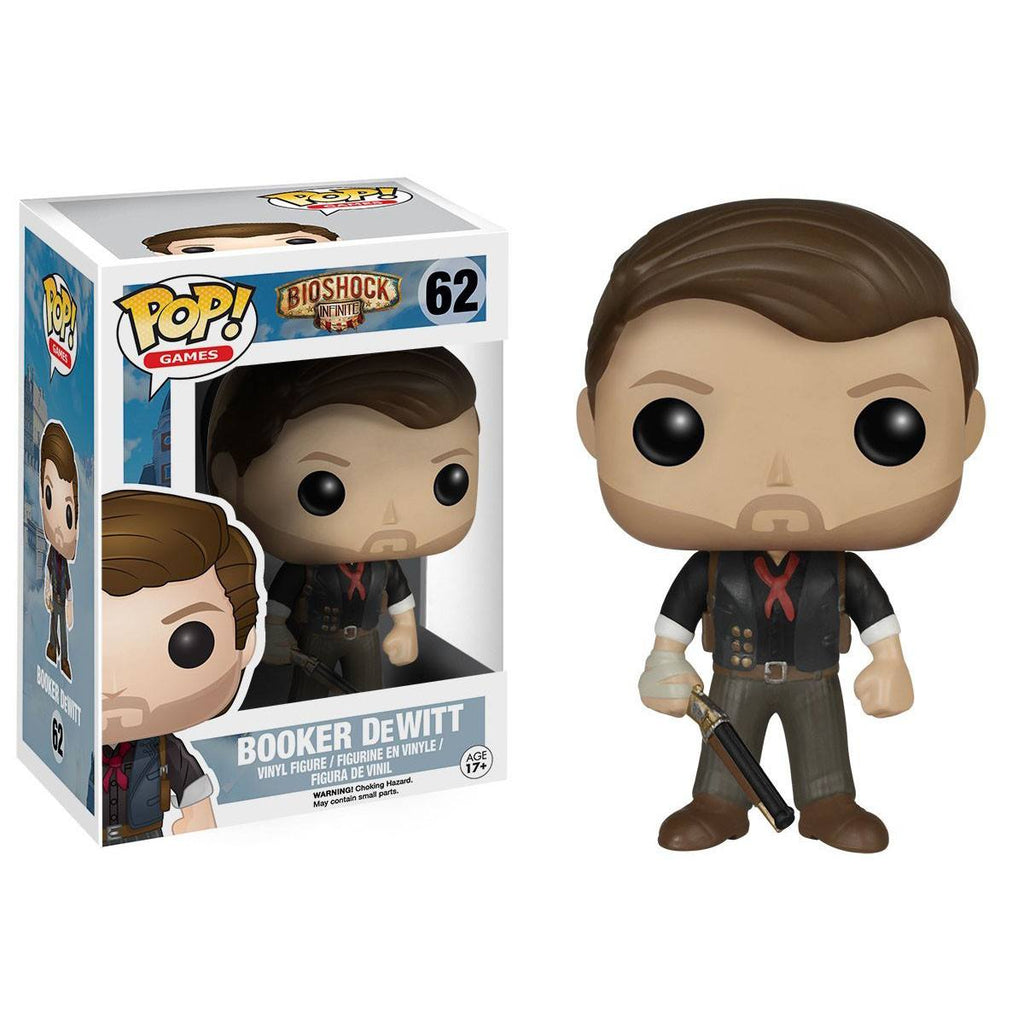 Bioshock Infinite POP Booker DeWitt Vinyl Figure - Radar Toys
