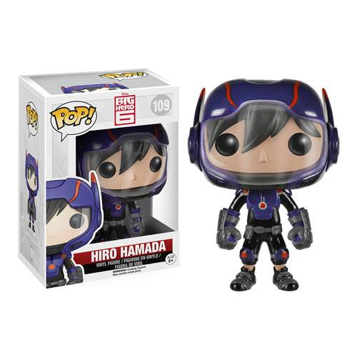 Disney Big Hero 6 POP Hiro Hamada Vinyl Figure - Radar Toys