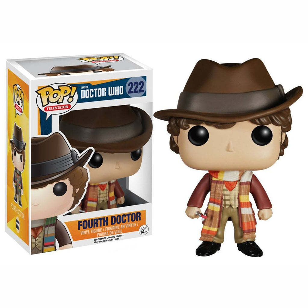 Doctor Who POP Fourth Doctor Vinyl Figure - Radar Toys