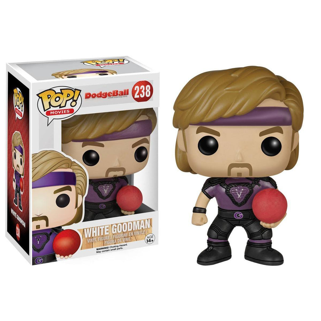 Dodgeball POP White Goodman Vinyl Figure - Radar Toys