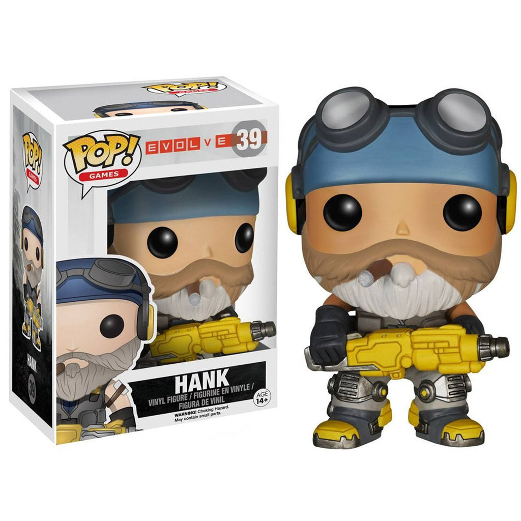 Evolve POP Hank Vinyl Figure - Radar Toys