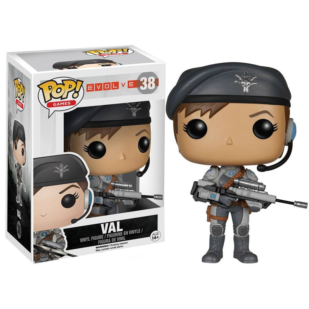 Evolve POP Val Vinyl Figure - Radar Toys