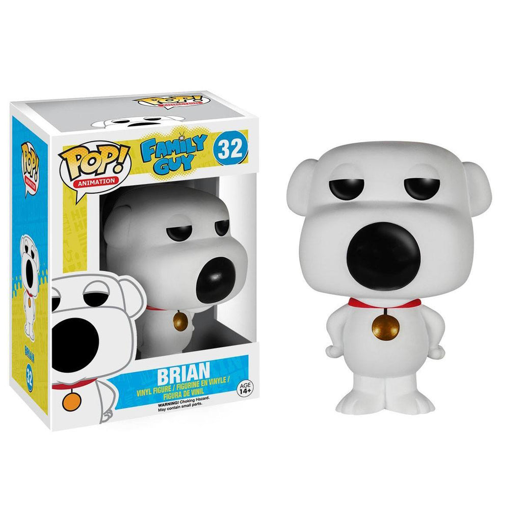 Family Guy POP Brian Vinyl Figure - Radar Toys