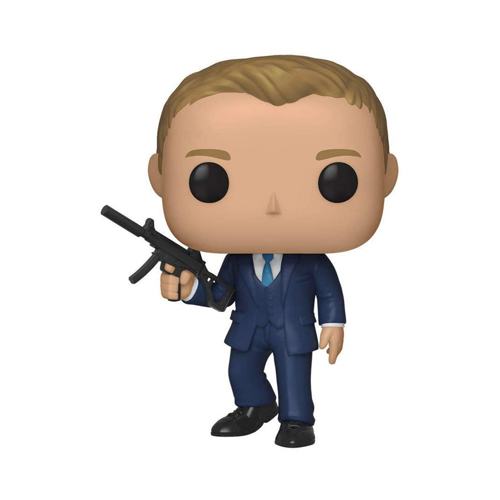 Funko 007 POP James Bond From Quantum Of Solace Vinyl Figure