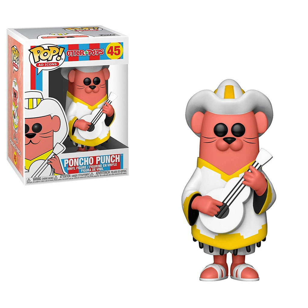 Funko Ad Icons POP Poncho Punch Vinyl Figure