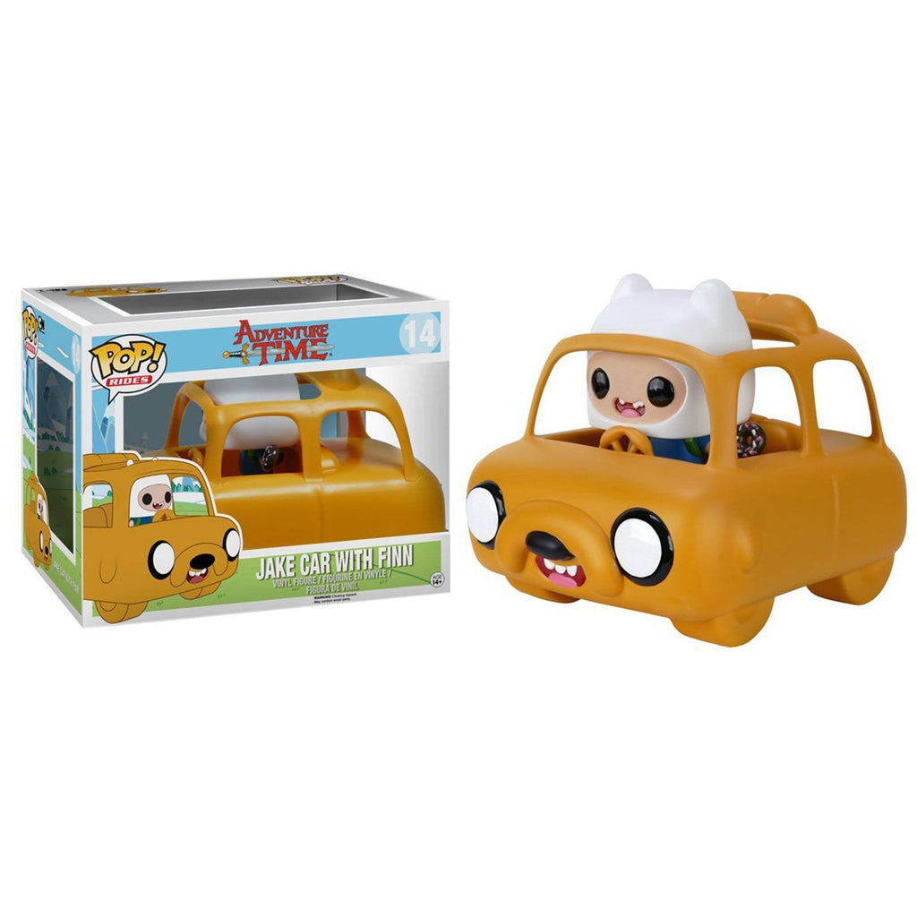 Funko Adventure Time POP Rides Jake Car With Finn Figure