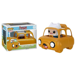 Funko Adventure Time POP Rides Jake Car With Finn Figure - Radar Toys