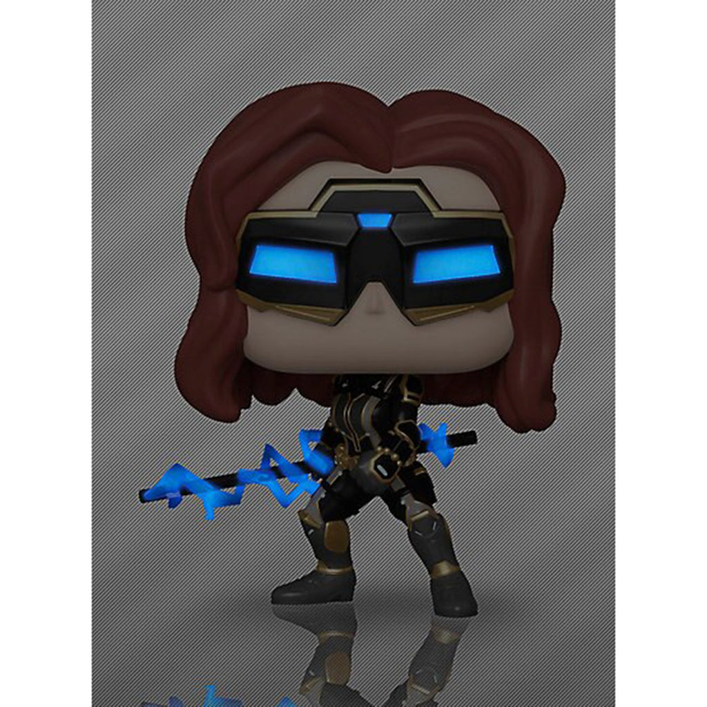 Funko Avengers Gamerverse POP Black Widow Vinyl Figure CHASE VERSION