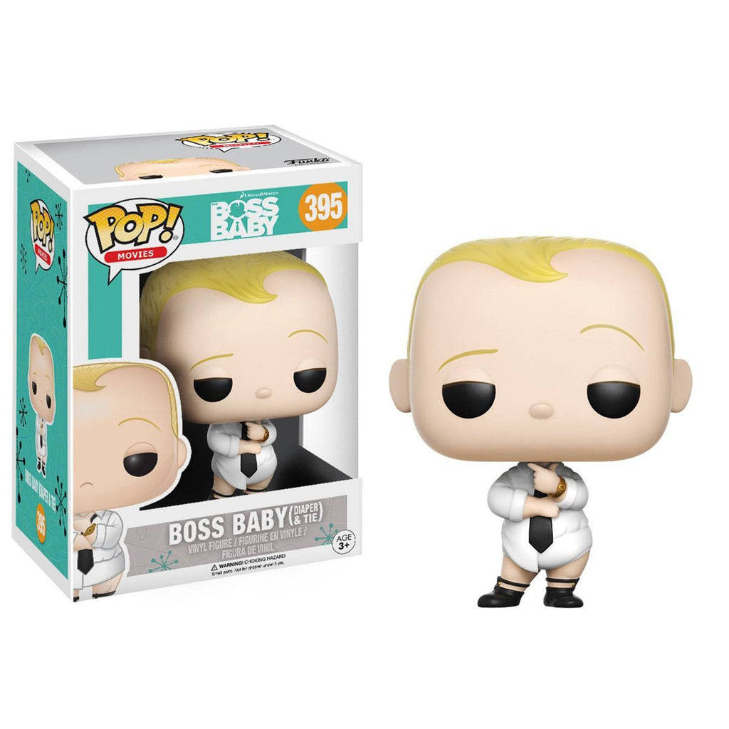 Funko Boss Baby POP Baby Diaper And Tie Vinyl Figure - Radar Toys