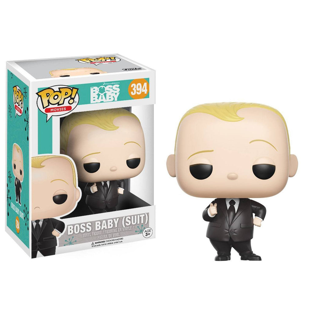 Funko Boss Baby POP Baby Suit Vinyl Figure - Radar Toys