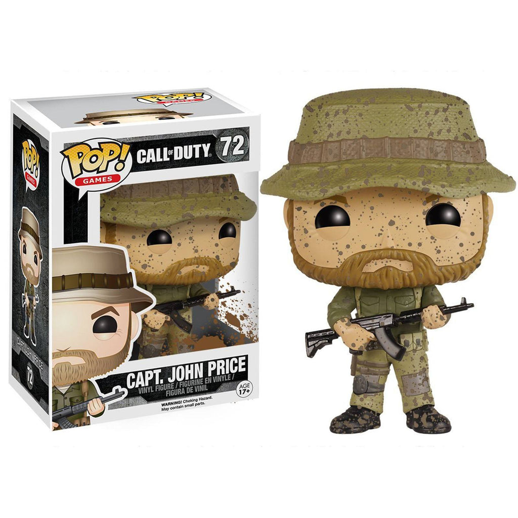 Funko Call Of Duty POP Captain John Price Vinyl Figure - Radar Toys