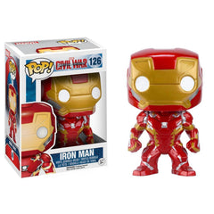 Funko Civil War POP Iron Man Bobble Head Vinyl Figure - Radar Toys