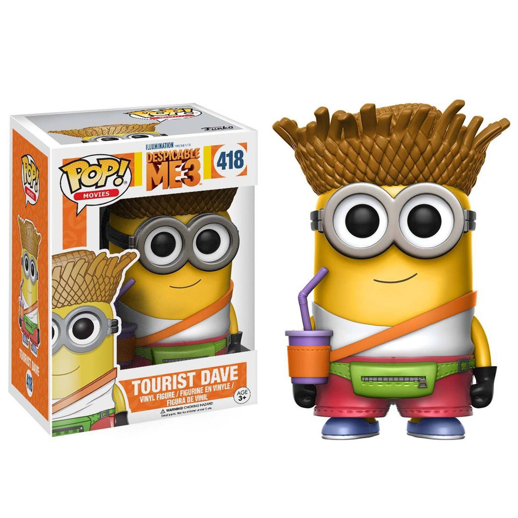 Funko POP Vinyl - Funko Despicable Me 3 POP Tourist Dave Vinyl Figure
