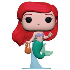 Funko POP Vinyl - Funko Disney Little Mermaid POP Ariel With Bag Vinyl Figure