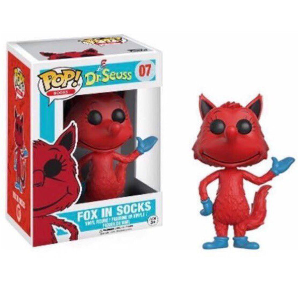 Funko Dr. Seuss POP Fox in Socks Vinyl Figure - Radar Toys