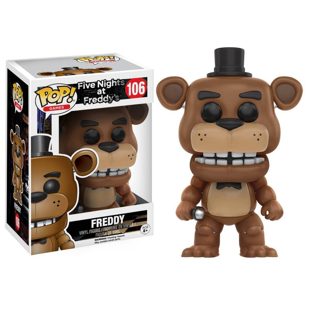 Funko Five Nights At Freddy's POP Freddy Fazbear Vinyl Figure