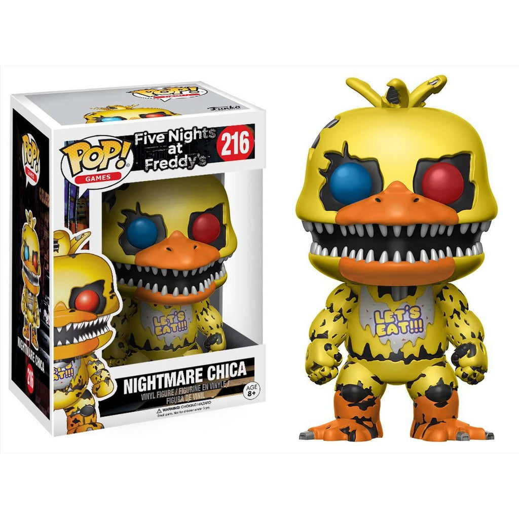 Funko Five Nights At Freddy's POP Nightmare Chica Vinyl Figure