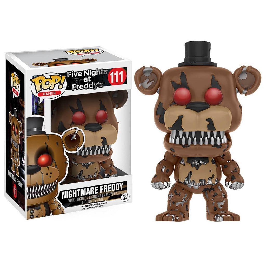 Funko Five Nights At Freddy's POP Nightmare Freddy Vinyl Figure