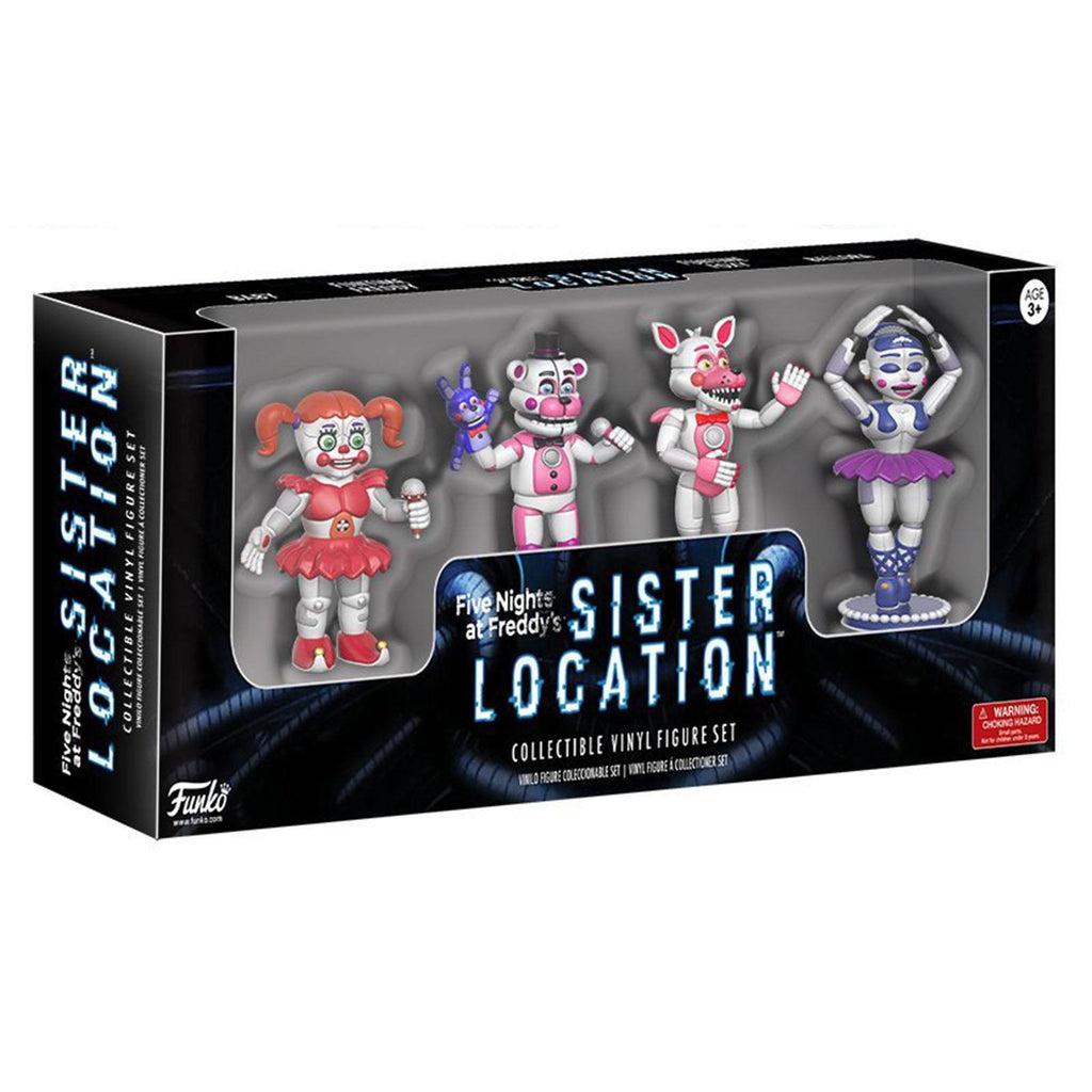 Funko Five Nights At Freddy's Sister Location Vinyl Figure Set