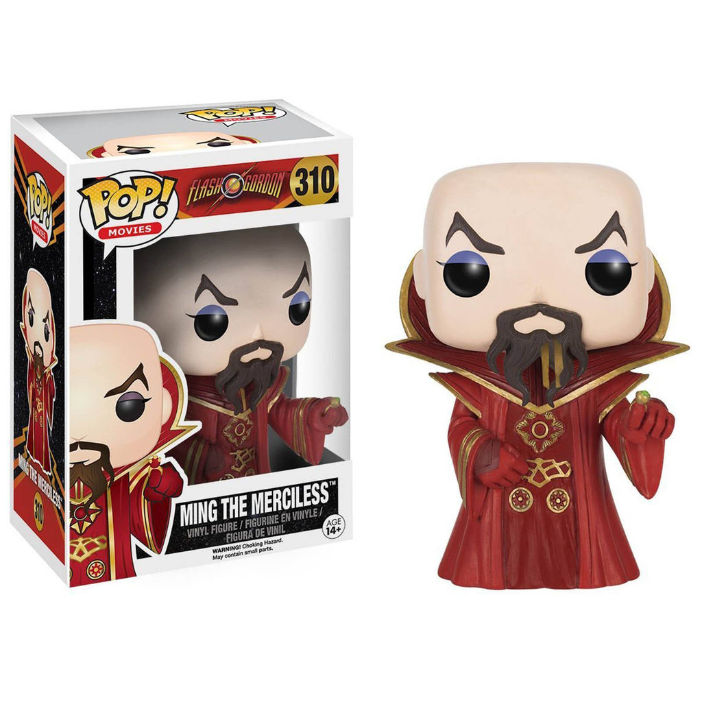 Funko Flash Gordon POP Ming The Merciless Vinyl Figure - Radar Toys